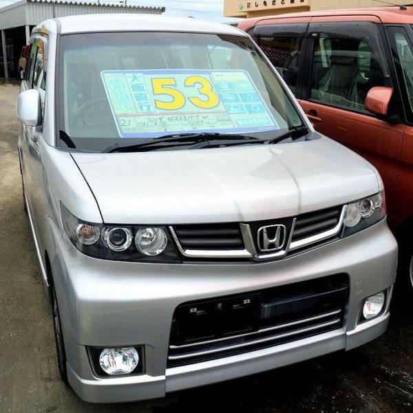 プライスダウン!ゼスト スパークW 58→53万円 H21年式