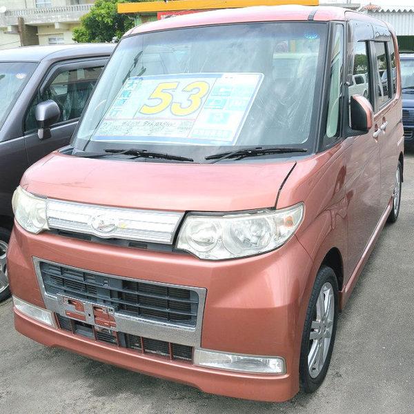 プライスダウン!タント カスタムV 59→53万円 H21年式