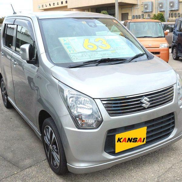 ワゴンR 20周年記念モデル 63万円 ガンメタ H25年式 走行12.7万km