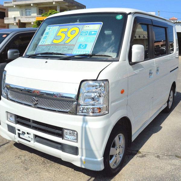 プライスダウン!エブリイワゴンPZターボ 65→59万円 H21年式 走行10.1万km