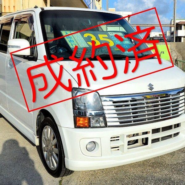 【ご成約】ワゴンR 白 35万円 H19年式 走行11.4万km 車検31年9月