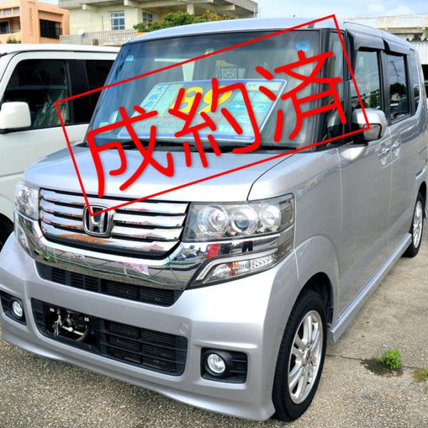 【ご成約済】N-BOX カスタムGL 89万円 H24年式 走行8.9万km 車検31年9月