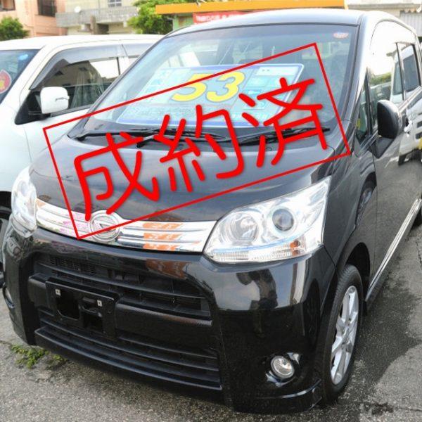 【ご成約済み】ムーヴ カスタム X-LIMITED 黒 53→46万円 H23年式 走行12.5万km 車検諸費用別