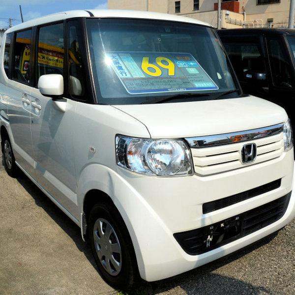 【プライスダウン】69→63万円 N-BOX GLパッケージ パールホワイト  H24年式