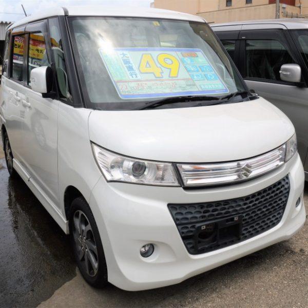 【プライスダウン】パレットSW XS パールホワイト 53→49万円 H22年式 走行9.5万km