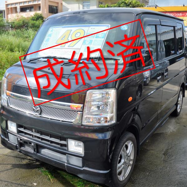【ご成約済み】スクラムワゴンPZターボ 黒 56→49万円 H20年式 走行12.9万km 車検別途