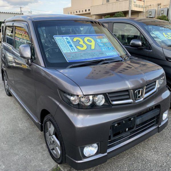 ゼストスパーク ガンメタ 39万円 H21年式 走行9.6万km