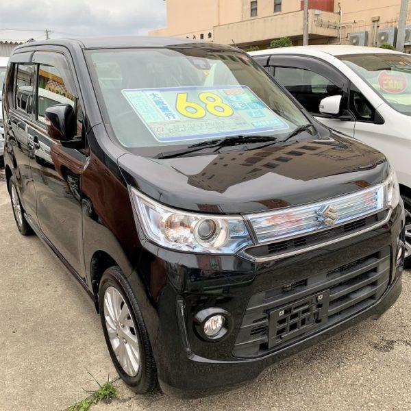 ワゴンR スティングレーX 黒 68万円 H27年式 走行12.3万km オートステーションKANSAI
