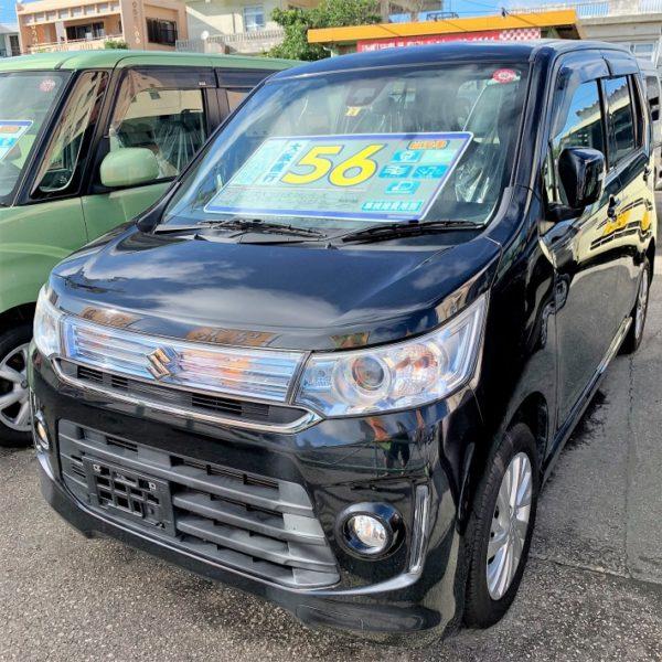 【プライスダウン】ワゴンR スティングレーX 黒 59→56万円 H27年式 走行12.3万km オートステーションKANSAI