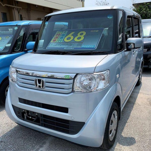 N-BOX GLパッケージ 水色 68万円 H24年式 走行8.9万km 車検費用別途