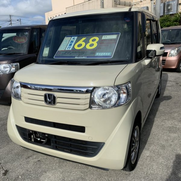 N-BOX GLパッケージ ヒダマリアイボリー 68万円 H25年式 走行11.8万km 車検別途