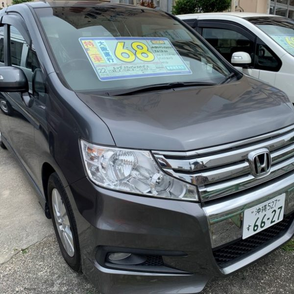 ステップワゴン スパーダZ ガンメタ 68万円 H22年式 走行11.1万km 車検R3年6月 オートステーションKANSAI