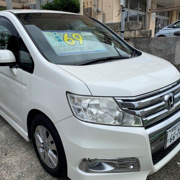 ステップワゴン スパーダZ ガンメタ 69万円 H22年式 走行13.5万km 車検R3年8月