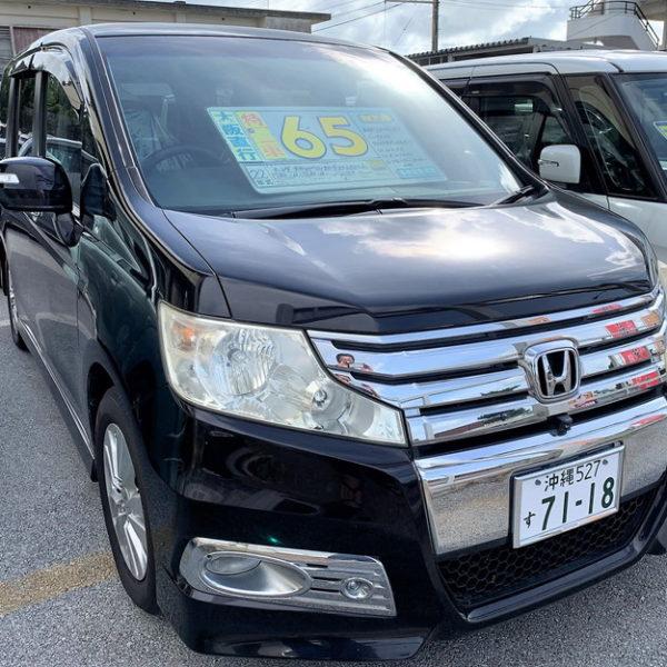 【プライスダウン】ステップワゴン スパーダZ クールスピリット ブラック 69→65万円 H22年式 走行12.2万km 車検R3年12月