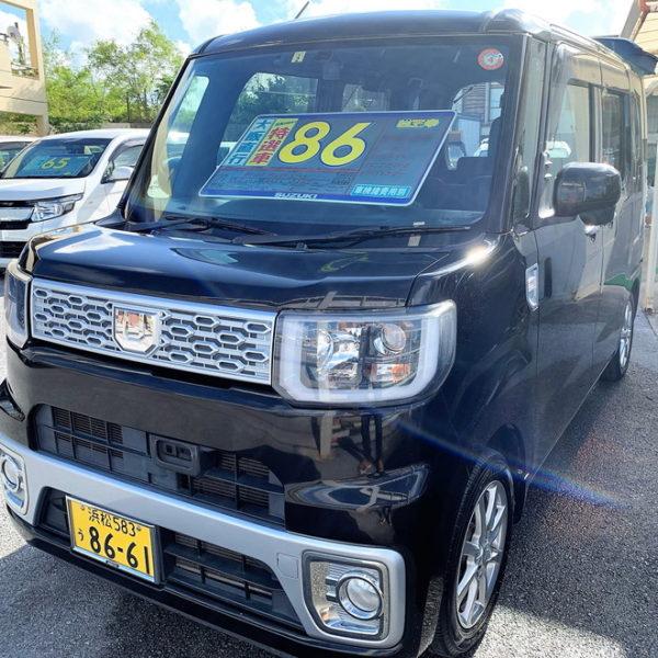 ウェイク X SA 黒 86万円 H27年式 走行12.5万km 車検R4年2月